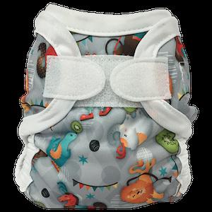 Bummis Newborn Diaper Cover- CIRCUS