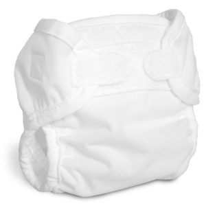Bummis Newborn Diaper Cover WHITE