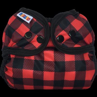 Bummis Simply Lite Cloth Diaper Cover- Lumberjack