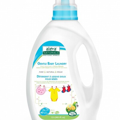 Aleva Naturals 3X Gentle Baby Laundry Fragrance Free