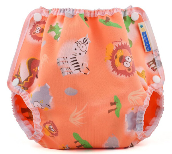 Mother-ease Snap Closure Diaper Cover- Safari