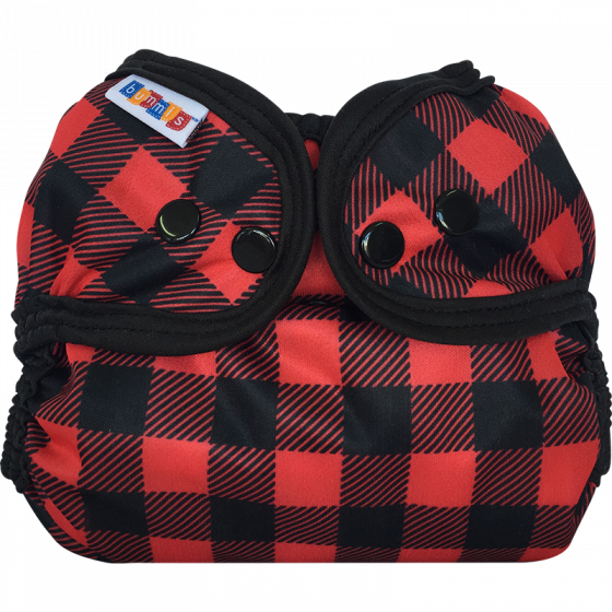 Bummis Simply Lite Cloth Diaper Cover- Lumberjack
