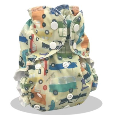 Apple Cheeks One Size Diaper Cover- Who Cars